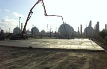 Parking lot renovation project